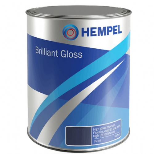 Hempel Brilliant Gloss Enamel Paint 750ml